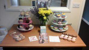 Care Wyvern support The Alzheimer's Society with Cupcakes