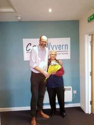 Congratulations to another of our Long Service Carers