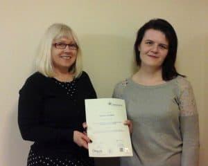 Natasha Completes Apprenticeship in Health & Social Care